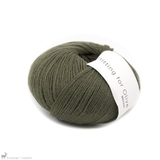 Laine mérinos Knitting For Olive Merino Dusty Olive