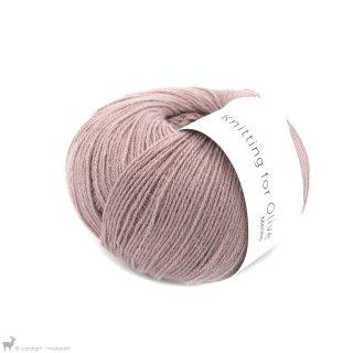 Laine mérinos Knitting For Olive Merino Dusty Rose
