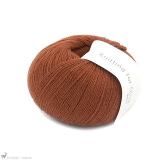 Laine mérinos Knitting For Olive Merino Rust