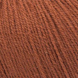 Light Fingering - 03 Ply Knitting For Olive Merino Rust