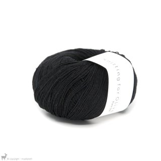 Fil de soie Knitting For Olive Pure Silk Coal
