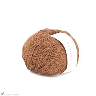 Fil de soie Knitting For Olive Pure Silk Copper