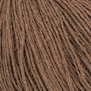 Fil de soie Knitting For Olive Pure Silk Dark Cognac