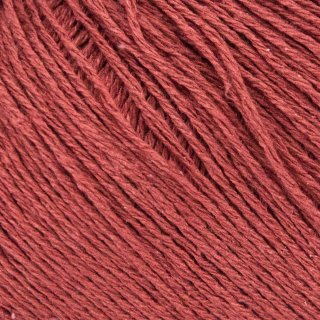Fil de soie Knitting For Olive Pure Silk Gooseberry Red