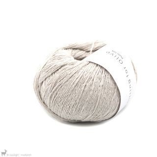 Fil de soie Knitting For Olive Pure Silk Putty
