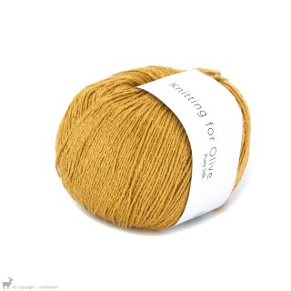 Fil de soie Knitting For Olive Pure Silk Sunflower