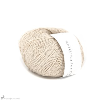 Fil de soie Knitting For Olive Pure Silk Wheat
