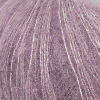 Fil de soie Knitting For Olive Soft Silk Mohair Artichoke Purple