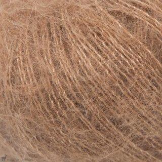 Fil de soie Knitting For Olive Soft Silk Mohair Brown Nougat
