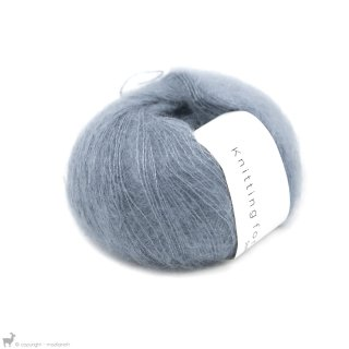 Fil de soie Knitting For Olive Soft Silk Mohair Dusty Dove Blue