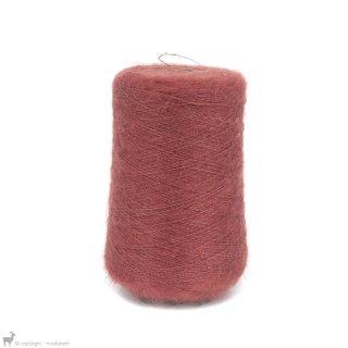 Fil de soie Knitting For Olive Soft Silk Forest Berry Cône
