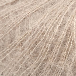Fil de soie Knitting For Olive Soft Silk Mohair Mushroom Rose