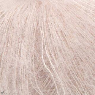 Fil de soie Knitting For Olive Soft Silk Mohair Soft Rose