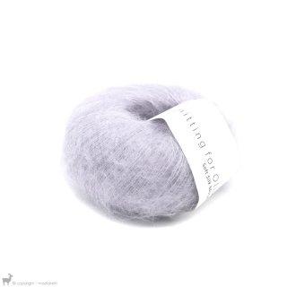 Fil de soie Knitting For Olive Soft Silk Mohair Unicorn Purple