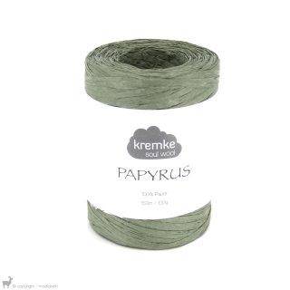 Fil de raphia Papyrus Vert Kaki 60