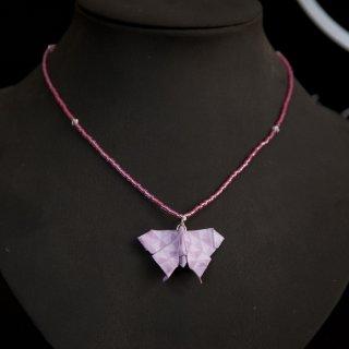 """Bijou Papillon Rose Collection """"Précieuses""""  - Madlaine"""