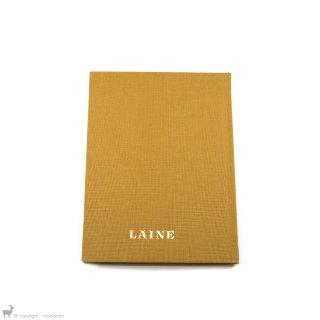 Mercerie Carnet de notes Laine Magazine Moutarde