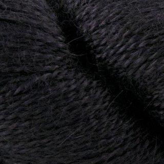 Laine d'alpaga Malabrigo Silkpaca Black 195