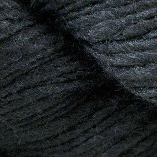 Laine mérinos Malabrigo Silky Merino Black 195