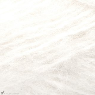 Bulky - 12 Ply Børstet Alpakka Blanc Neige 1001