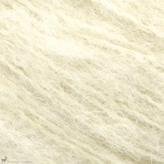 Bulky - 12 Ply Børstet Alpakka Blanc Vanille 2102