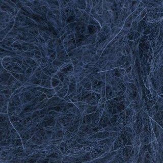 Laine d'alpaga Børstet Alpakka Bleu Marine 5575