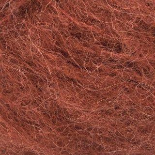 Laine d'alpaga Børstet Alpakka Orange Rouille 3355
