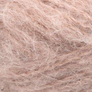 Laine d'alpaga Børstet Alpakka Rose Nude 3522