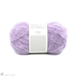 Laine d'alpaga Børstet Alpakka Violet Lilas Clair 5043