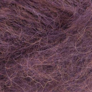 Laine d'alpaga Børstet Alpakka Violet Prune 4360