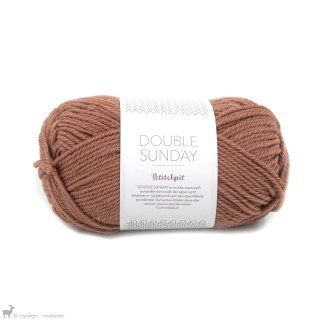 Laine mérinos Double Sunday Petite Knit Dusty Rouge 3553