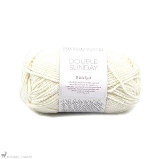 Laine mérinos Double Sunday Petite Knit Whipped Cream 1012