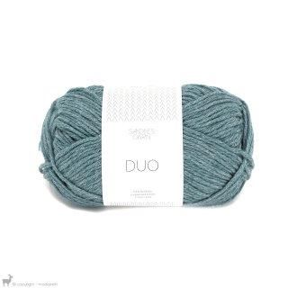 Laine mérinos Duo Bleu Pétrole 6553