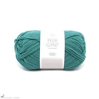 Laine de mouton Peer Gynt Bleu Lagon 7024