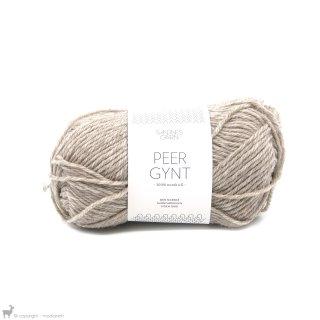 Laine de mouton Peer Gynt Gris-Beige Chiné 2650