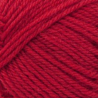 Laine de mouton Peer Gynt Rouge Vif 4228