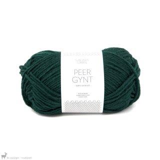 Laine de mouton Peer Gynt Vert Forêt 7272
