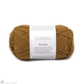 Laine mérinos Sunday Petite Knit Brun Croissant 2345