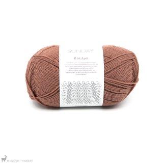 Fingering - 04 Ply Sunday Petite Knit Dusty Rouge 3553