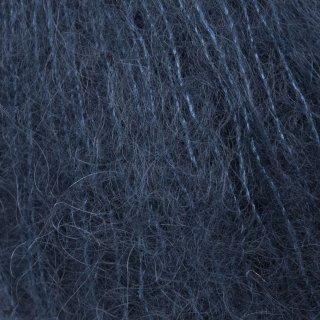 Fil de soie Tynn Silk Mohair Bleu Marine 5581