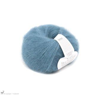 Fil de soie Tynn Silk Mohair Bleu Profond 6042