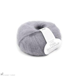 Fil de soie Tynn Silk Mohair Gris Nuage 4631