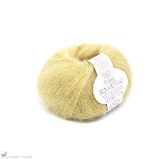 Lace - 02 Ply Tynn Silk Mohair Jaune Paille 2113