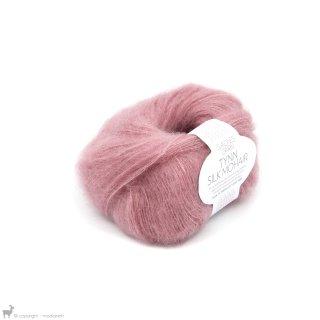 Fil de soie Tynn Silk Mohair Rose 4323