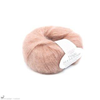 Fil de soie Tynn Silk Mohair Rose Poudré 3511