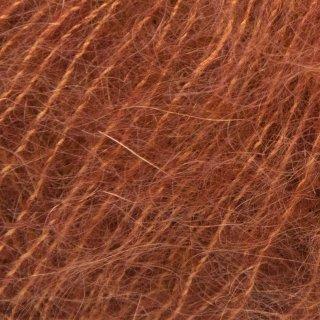 Fil de soie Tynn Silk Mohair Rouge Rouille 3554