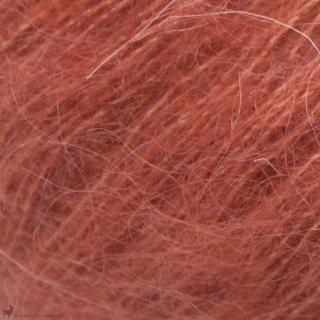 Fil de soie Tynn Silk Mohair Rouge Terracotta 3835