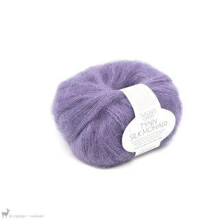 Fil de soie Tynn Silk Mohair Violet Lilas 5043