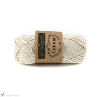 Fil de coton Catona 50 Blanc Linen 505