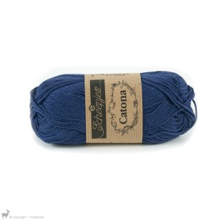Fil de coton Catona 50 Bleu Light Navy 164